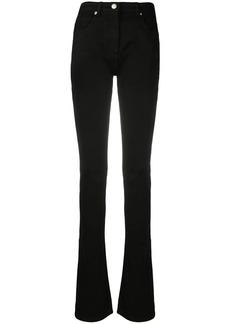 Blumarine side-slit jeans