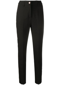 Blumarine slim-fit high-waist trousers