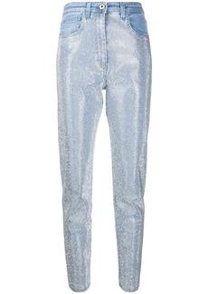 Blumarine studded denim jeans