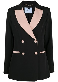 Blumarine two-tone double-breasted blazer