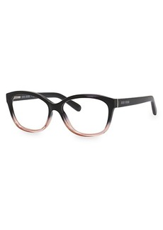 Bobbi Brown The Mulberry 54MM Two-Toned Square Optical Glasses