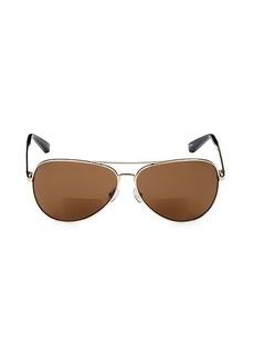 Bobbi Brown The Tribe 59MM Aviator Sunglasses & Reading Glasses
