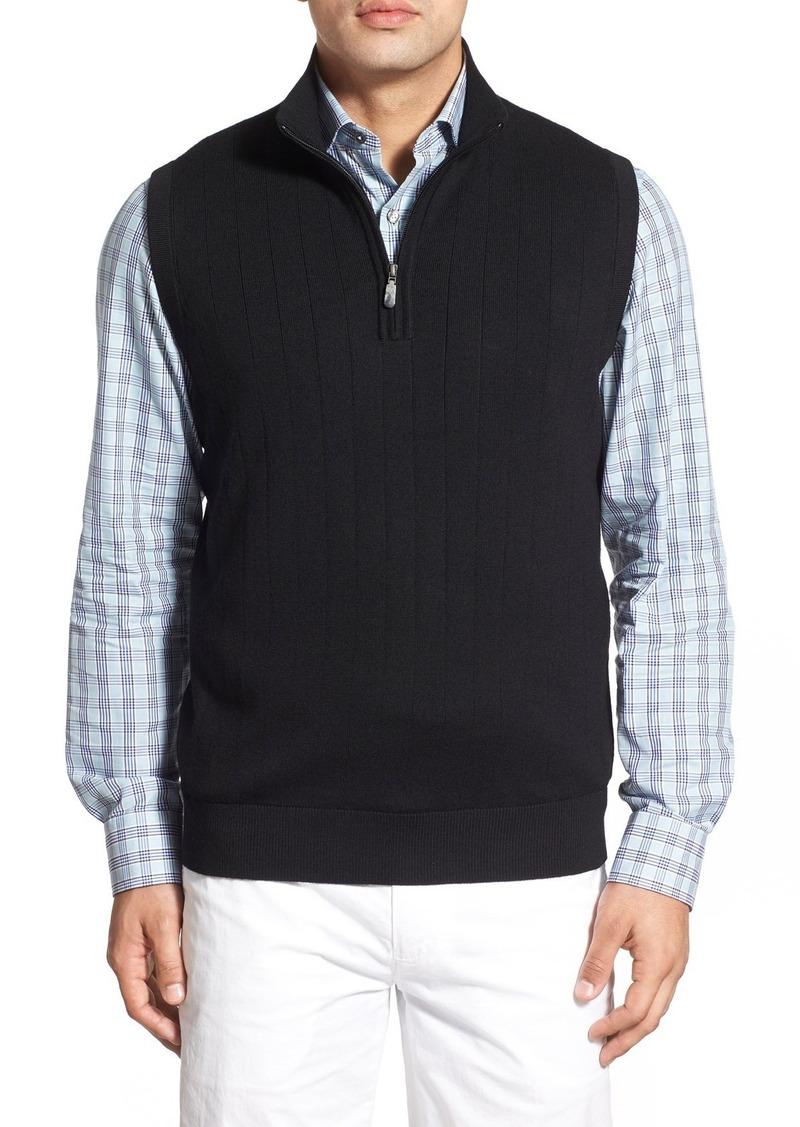 Bobby Jones Bobby Jones Quarter Zip Wool Sweater Vest | Sweaters ...