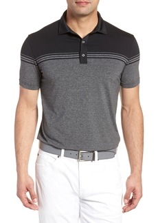 Bobby Jones R18 Tech Torque Stripe Golf Polo