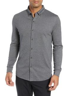 Bobby Jones Rule 18 Brushed Regular Fit Knit Sport Shirt
