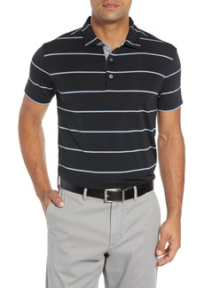 Bobby Jones Rule 18 Alliance Stripe Tech Polo