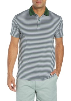 Bobby Jones Rule 18 Stripe Tech Jersey Polo