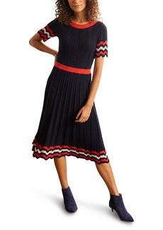 Boden Agnes Pointelle Midi Dress