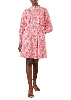 Boden Antonia Long Sleeve Cotton Shirtdress