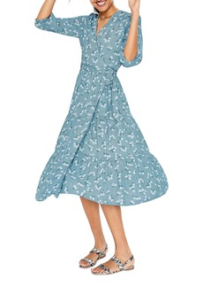 06ca6187e54 Boden Aurora Wrap Midi Dress