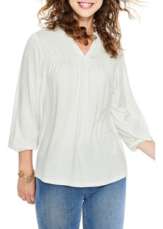 Boden Bea Jersey Peasant Top
