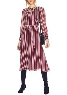 Boden Belted Stripe Midi Dress