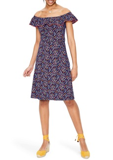 Boden Bethany Off the Shoulder Dress
