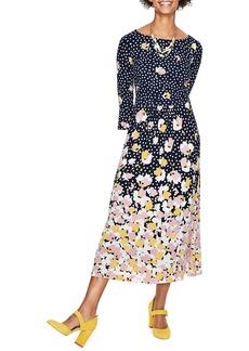 Boden Blossom Jersey Midi Dress