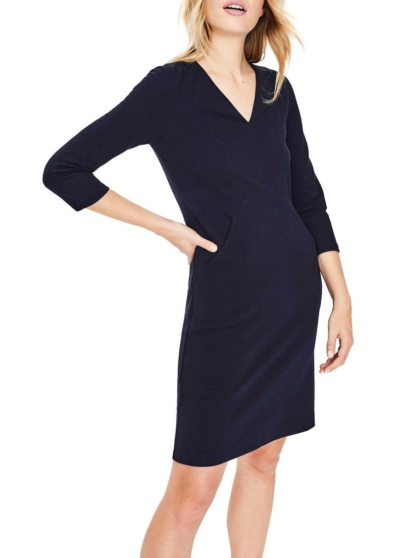 Boden Bronte Jersey Sheath Dress