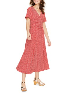 Boden Cassia Jersey Faux Wrap Dress (Regular & Petite)