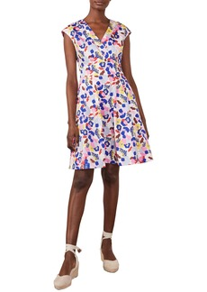 Boden Clemmie Floral Fit & Flare Dress