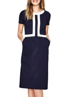 Boden Colorblock A-Line Dress