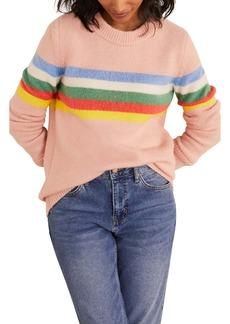 Boden Effingham Fluffy Stripe Sweater