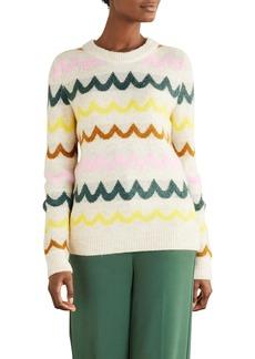 Boden Effingham Wavy Stripe Sweater