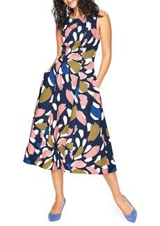 Boden Elena Fit & Flare Cotton Dress