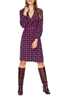 Boden Elodie Stretch Jersey Wrap Dress