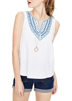Boden Embroidered Tank