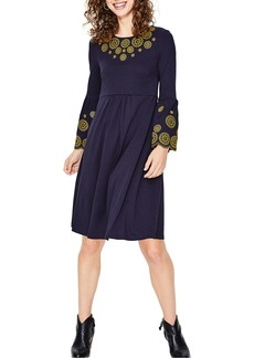 Boden Emilia Embroidered Dress