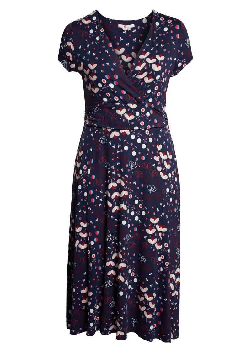 3b21ee27baf4 On Sale today! Boden Boden Faux Wrap Midi Dress