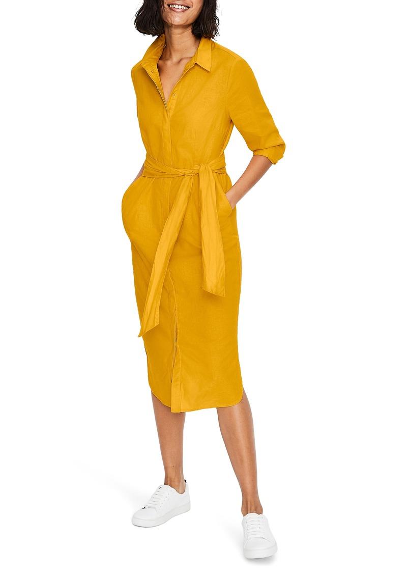 Boden Freya Long Sleeve Shirtdress
