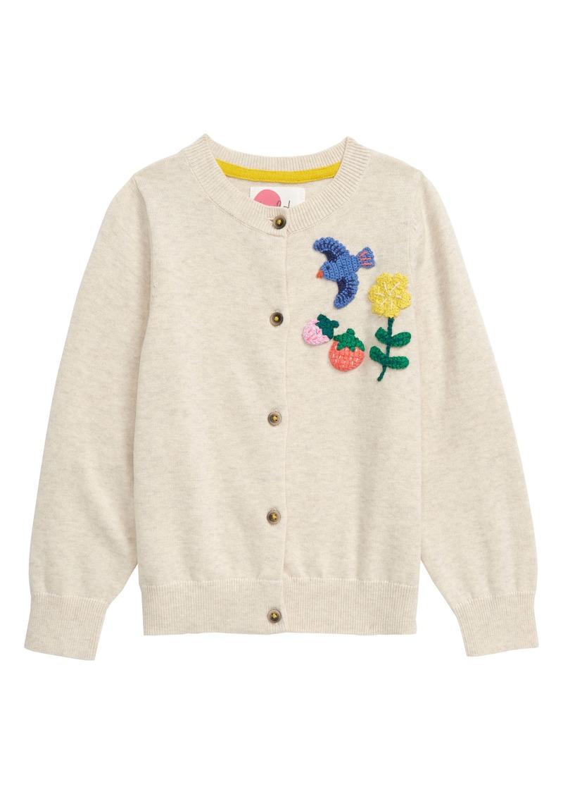 Mini Boden Boden Fun Crochet Cardigan (Toddler Girls, Little Girls & Big Girls)