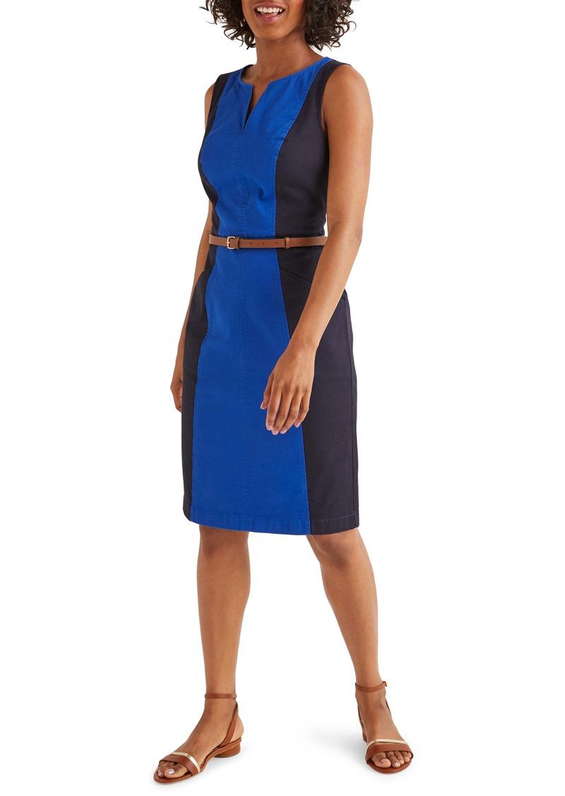 Boden Helena Chino Sheath Dress
