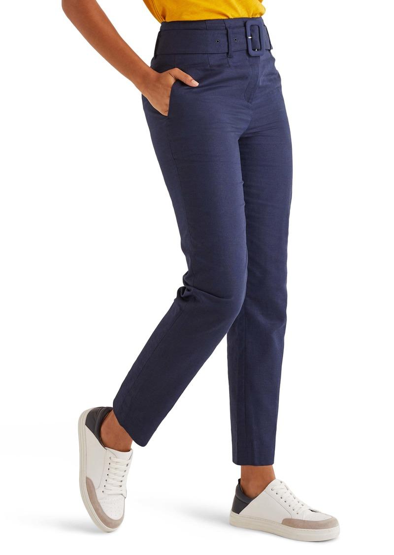 Boden Holkham Linen & Cotton Pants