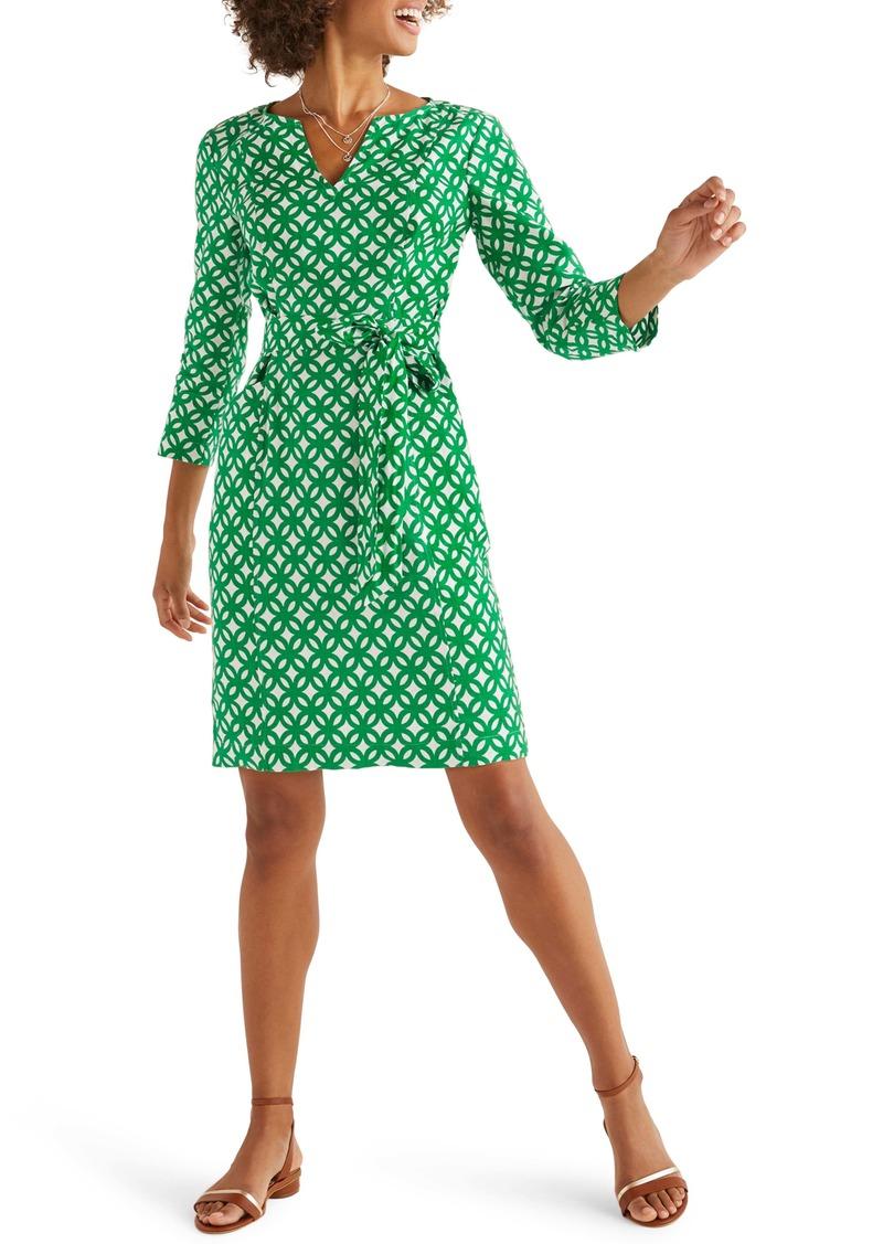 Boden Kelsey Belted Linen Dress