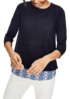 Boden Layered Look Sweater