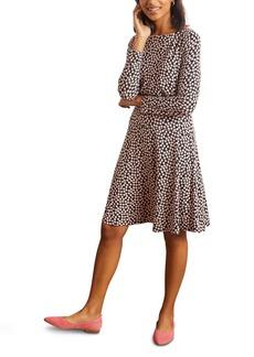 Boden Nellie Long Sleeve Jersey Dress