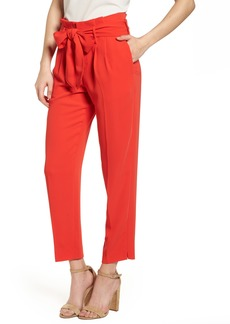 Boden Paperbag Waist Crop Trousers