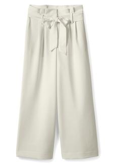 Boden Paperbag Waist Wide Leg Pants