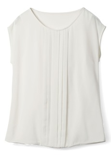 Boden Pleated Front Top