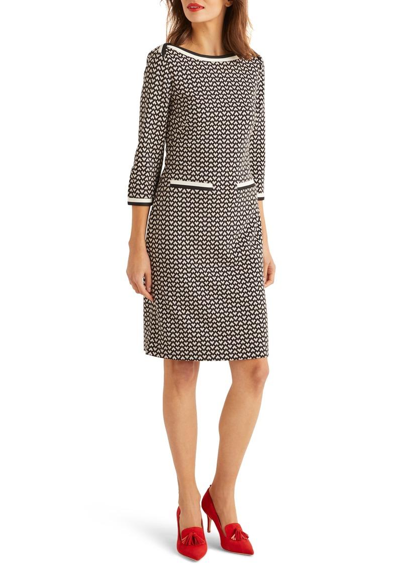 Boden Rhea Geo Pattern Dress