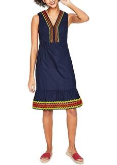 Boden Ric Rac Dress