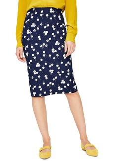 Boden Richmond Stretch Cotton Pencil Skirt