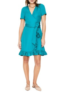 Boden Federica Ruffle Wrap Dress