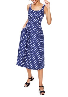 Boden Sabina Fit & Flare Midi Dress (Regular & Petite)
