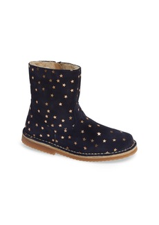Mini Boden Sparkle Leather Booties (Toddler & Little Kid)