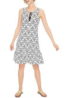 Boden Tassel Tie Print Tank Dress