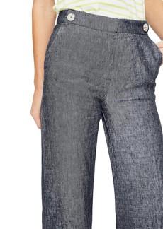 Boden Wide Leg Linen Pants