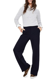 Boden Wide Leg Ponte Knit Pants