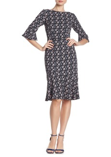 Boden Flippy Pencil Dress