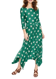 a8d872597de Boden Elina Grecian Jersey Midi Dress Now $49.97